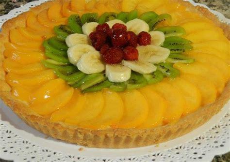 Tarta de frutas con crema chantilly Receta de graciela ...