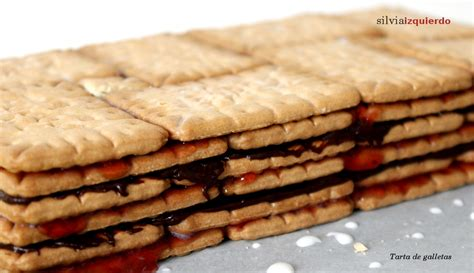 Tarta de galleta, chocolate y mermelada de fresa | silvia ...