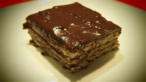 Tarta de Galleta y Chocolate | Receta Facil   YouTube
