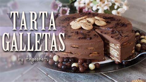 Tarta de Galletas, Chocolate y Café · Receta Fácil y ...