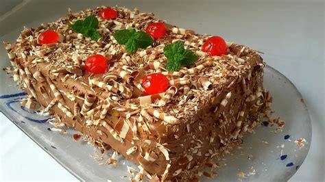 Tarta de galletas con chocolate  tarta sin horno    YouTube
