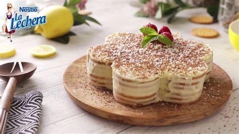 Tarta de galletas con limón y leche condensada   Recetas ...