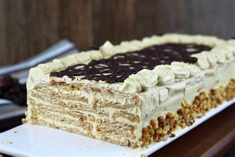 Tarta de galletas moka sin lactosa   Recetas fáciles que ...