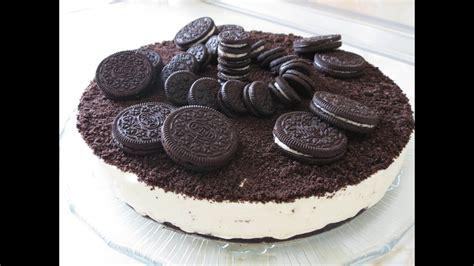 Tarta de Galletas Oreo y Chocolate Blanco   Video #29 ...