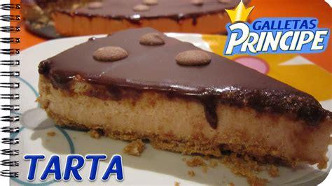TARTA DE GALLETAS PRÍNCIPE | Cheesecake SIN HORNO   YouTube