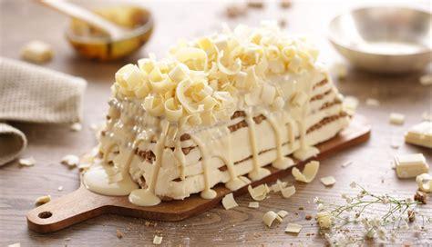 Tarta de galletas y chocolate blanco | Nestlé Cocina