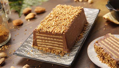 Tarta de galletas y chocolate con leche | Nestlé Cocina