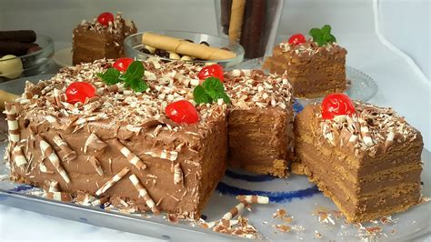 Tarta de galletas y chocolate | Recetas Erasmus