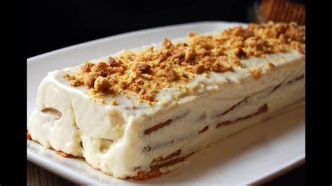 tarta de galletas y limón   YouTube
