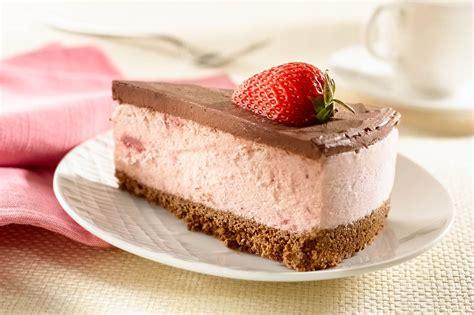 Tarta de Helado de Fresa y Chocolate