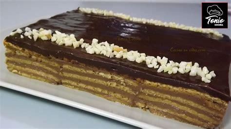 TARTA de la ABUELA de CHOCOLATE   Receta fácil   YouTube