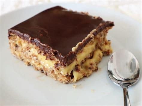 Tarta de la abuela: deliciosa tarta con chocolate, natilla ...