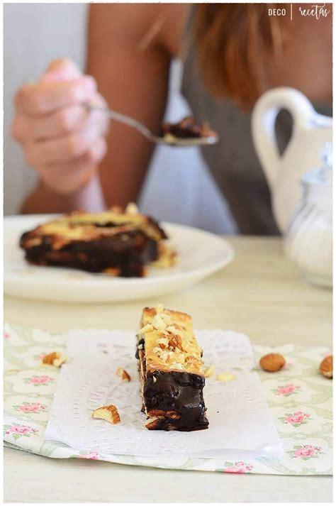 Tarta de la abuela: Tarta de galletas con chocolate  sin ...