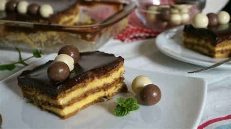 Tarta de la abuela  tarta de galletas con flan    Anna ...