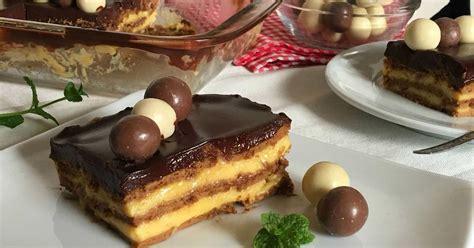 Tarta de la abuela  tarta de galletas con flan  | Cocina