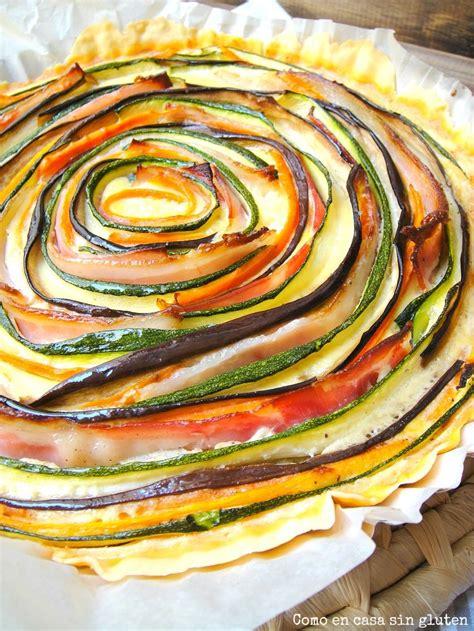 Tarta de la huerta sin gluten | Recetas de comida, Sin ...
