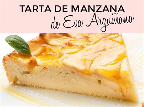 Tarta de Manzana Eva Arguiñano | Tarta de queso con ...