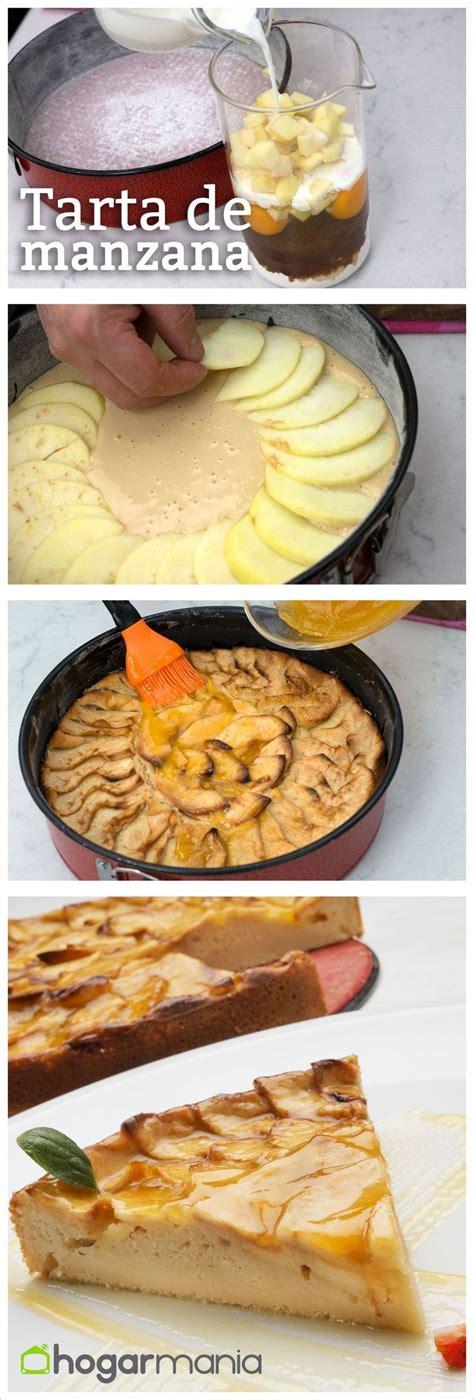 Tarta de manzana fácil elaborada por Eva Arguiñano ...