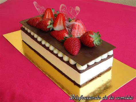 Tarta de Mascarpone, Fresa y Chocolate   Postres con estilo