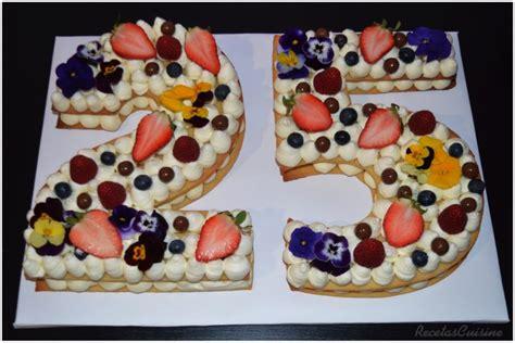 Tarta de Números  Number Cake  | Recetas Cuisine Companion
