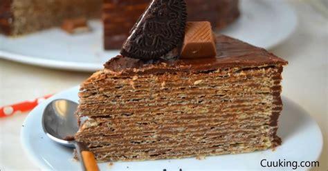 Tarta de Nutella y obleas ¡La tarta de chocolate más fácil ...