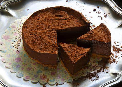 Tarta de puro chocolate SIN HORNO. Fácil y rápida.   La ...