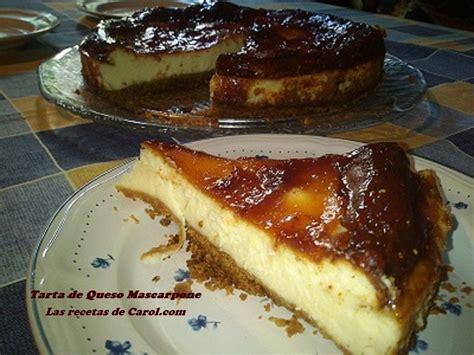 Tarta de queso Mascarpone | Food, Recipes, Cheesecake