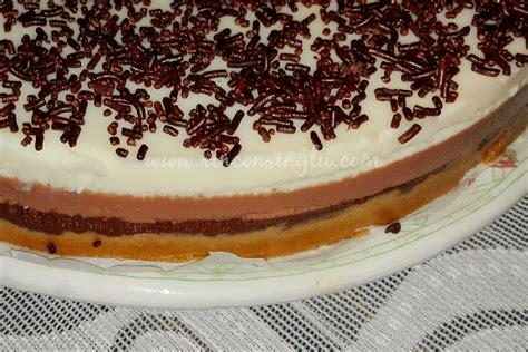 Tarta de tres chocolates sin gluten   Rincón Singlu