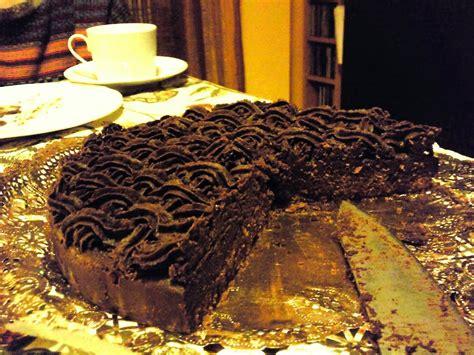 Tarta de trufa:  chocolate, receta casera    Golosolandia ...