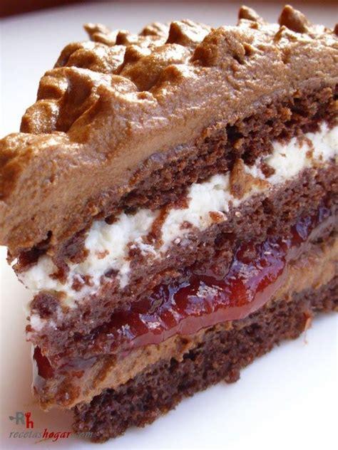 Tarta de trufa fresca  chocolate y nata    Recetas de ...