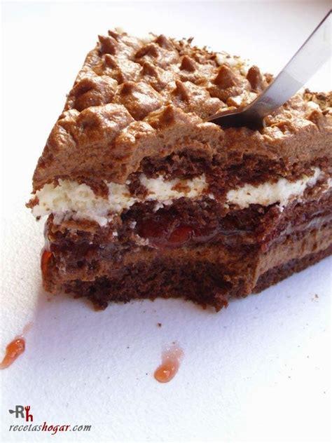 Tarta de trufa fresca  chocolate y nata    Tartas, Tartas ...