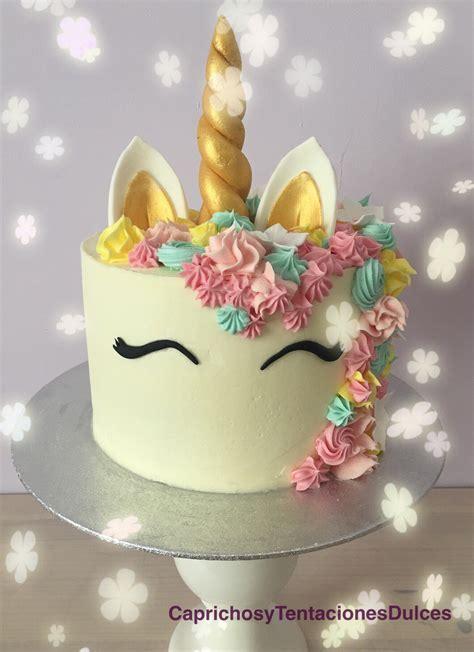 Tarta de unicornio   Caprichos y tentaciones dulces