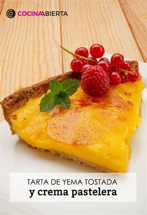 Tarta de yema tostada   Receta de Eva Arguiñano en Cocina ...