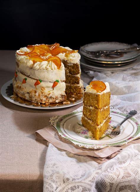 Tarta de zanahoria, naranja y coco | Receta  con imágenes ...
