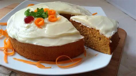 Tarta de zanahoria o Carrot Cake  receta muy fácil    YouTube