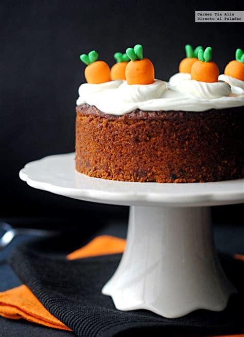 Tarta de Zanahoria sin Gluten para Fiestas Infantiles ...