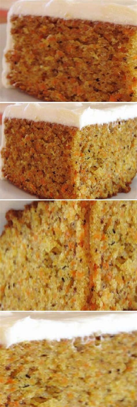 Tarta de zanahoria sin huevo, sin aceite y sin manteca ...