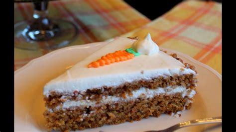 Tarta de Zanahorias  sin lactosa  / Carrot Cake  Lactose ...