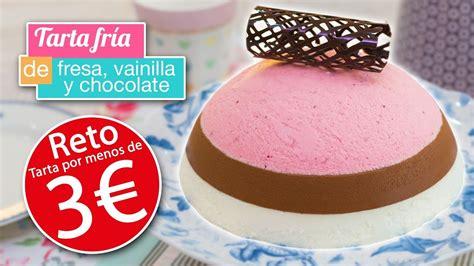 Tarta fría por MENOS DE 3 EUROS   Chocolate, vainilla y ...