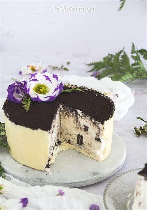 Tarta Helada de Oreo y Chocolate Blanco — La chocolaterapia