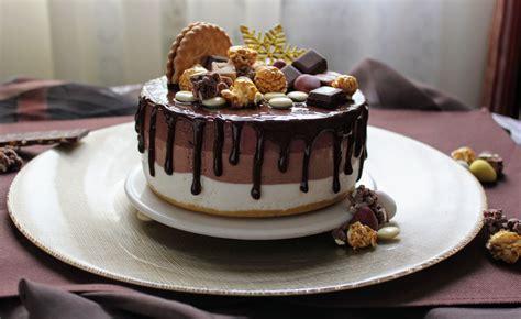 Tarta Mousse Tres Chocolates   Cocinando con las Chachas