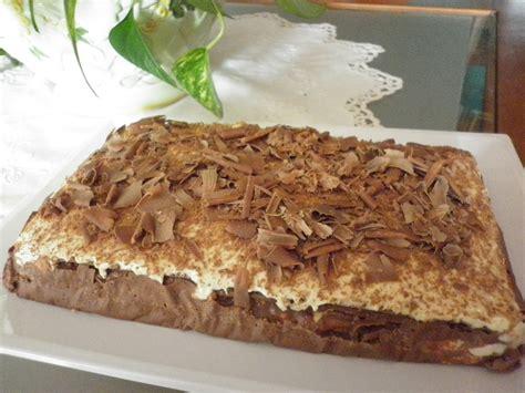 Tarta Napolitana de Chocolate Dukan