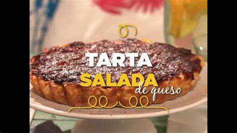 Tarta Salada de Queso | Tartas saladas, Recetas de pastas ...