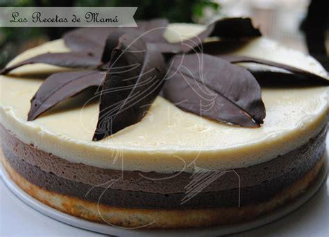 Tarta Tres Chocolates   Las Recetas de Mamá