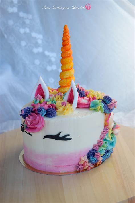 Tarta Unicornio, fotos tarta por encargo   Como Tartas ...