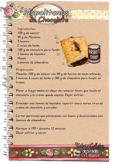 Tartas, Galletas Decoradas y Cupcakes: Napolitanas de ...