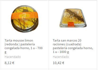 Tartas Mercadona 2020: postres con la mejor relacion ...