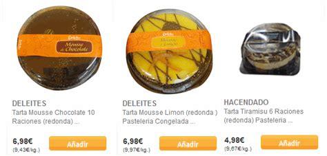 Tartas Mercadona: postres con la mejor relacion calidad precio