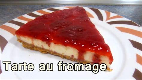 TARTE AU FROMAGE   dessert recette de cuisine facile et ...