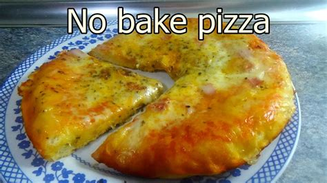 TASTY NO OVEN PIZZA   Tasty and easy food recipes for ...